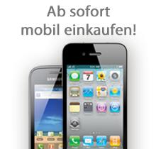 Ab sofort mobil einkaufen!
